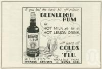 "<span class=""caption-caption"">Beenleigh Rum advertisment</span>, 1937. <br />Booklet, collection of <span class=""caption-contributor"">John Young</span>."