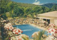 "<span class=""caption-caption"">Swimming pool at Hayman Island</span>, 1950. <br />Booklet, collection of <span class=""caption-contributor"">John Young</span>."
