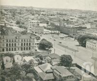 "<span class=""caption-caption"">Fortitude Valley</span>, 1949. <br />Booklet, collection of <span class=""caption-contributor"">John Young</span>."