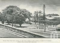 "<span class=""caption-caption"">Bowen Park, the lower portion of old York's Hollow</span>, 1949. <br />Booklet, collection of <span class=""caption-contributor"">John Young</span>."