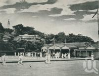 "<span class=""caption-caption"">Booroodabin Bowling Club, Newstead</span>, 1949. <br />Booklet, collection of <span class=""caption-contributor"">John Young</span>."
