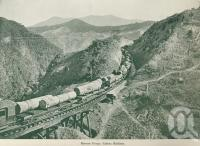 "<span class=""caption-caption"">Barron Gorge, Cairns Railway</span>, c1925. <br />Booklet, collection of <span class=""caption-contributor"">John Young</span>."