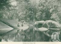 "<span class=""caption-caption"">Babinda Creek, Cairns</span>, c1925. <br />Booklet, collection of <span class=""caption-contributor"">John Young</span>."