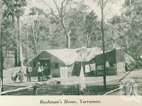"<span class=""caption-caption"">Bush home, Yarraman</span>, c1925. <br />Booklet, collection of <span class=""caption-contributor"">John Young</span>."