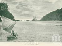 "<span class=""caption-caption"">Mourilyan Harbour</span>, c1925. <br />Booklet, collection of <span class=""caption-contributor"">John Young</span>."