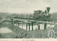 "<span class=""caption-caption"">Cane train, Nambour</span>, c1925. <br />Booklet, collection of <span class=""caption-contributor"">John Young</span>."
