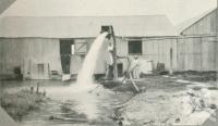 """<span class=""""caption-caption"""">Bore on grazing farm, Cunnamulla District</span>. <br />From <span class=""""caption-book"""">Queensland Sheep and Wool Industry</span>, <span class=""""caption-creator"""">Queensland Government Intelligence and Tourist Bureau</span>, Brisbane, 1918, collection of <span class=""""caption-contributor"""">Centre for the Government of Queensland</span>."""