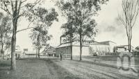 """<span class=""""caption-caption"""">John Cooke and Company's Meatworks, Redbank, Brisbane-Ipswich line</span>. <br />From <span class=""""caption-book"""">Queensland Sheep and Wool Industry</span>, <span class=""""caption-creator"""">Queensland Government Intelligence and Tourist Bureau</span>, Brisbane, 1918, collection of <span class=""""caption-contributor"""">Centre for the Government of Queensland</span>."""