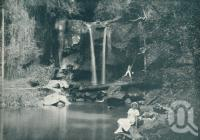 "<span class=""caption-caption"">Curtis Falls, Mt Tamborine</span>. <br />From <span class=""caption-book"">Queensland The Jewel of Australia</span>, <span class=""caption-publisher"">Sydney G Hughes</span>, Brisbane, c1933, collection of <span class=""caption-contributor"">Centre for the Government of Queensland</span>."