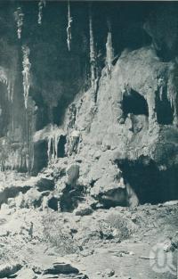 "<span class=""caption-caption"">Interior Chillagoe caves</span>. <br />From <span class=""caption-book"">Queensland The Jewel of Australia</span>, <span class=""caption-publisher"">Sydney G Hughes</span>, Brisbane, c1933, collection of <span class=""caption-contributor"">Centre for the Government of Queensland</span>."