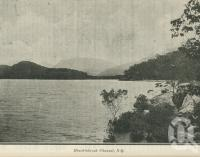 """<span class=""""caption-caption"""">Hinchinbrook Channel</span>. <br />From <span class=""""caption-book"""">The Queen State</span>, <span class=""""caption-creator"""">D.C. Tilghman</span>, <span class=""""caption-publisher"""">John Mills</span>, Brisbane, 1933, collection of <span class=""""caption-contributor"""">Centre for the Government of Queensland</span>."""