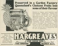 """<span class=""""caption-caption"""">Hargreaves and Sons Ltd, The Springs, Manly</span>. <br />From <span class=""""caption-book"""">The Queen State</span>, <span class=""""caption-creator"""">D.C. Tilghman</span>, <span class=""""caption-publisher"""">John Mills</span>, Brisbane, 1933, collection of <span class=""""caption-contributor"""">Centre for the Government of Queensland</span>."""