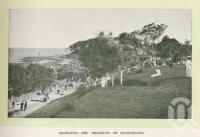 "<span class=""caption-caption"">Sandgate - the Brighton of Queensland</span>. <br />From <span class=""caption-book"">Glimpses of Sunny Queensland (2nd edition)</span>, <span class=""caption-creator"">Queensland Government Intelligence and Tourist Bureau</span>, Brisbane, 1912, collection of <span class=""caption-contributor"">Centre for the Government of Queensland</span>."