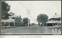 """<span class=""""caption-caption"""">McDowall Street, Roma</span>. <br />From <span class=""""caption-book"""">Glimpses of Sunny Queensland (3rd edition)</span>, <span class=""""caption-creator"""">Queensland Government Intelligence and Tourist Bureau</span>, Brisbane, 1914, collection of <span class=""""caption-contributor"""">Centre for the Government of Queensland</span>."""