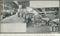 """<span class=""""caption-caption"""">CQME Company's Works, Lakes Creek, Rockhampton</span>. <br />From <span class=""""caption-book"""">Glimpses of Sunny Queensland (3rd edition)</span>, <span class=""""caption-creator"""">Queensland Government Intelligence and Tourist Bureau</span>, Brisbane, 1914, collection of <span class=""""caption-contributor"""">Centre for the Government of Queensland</span>."""