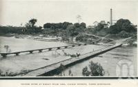 """<span class=""""caption-caption"""">Pioneer River at Marian Sugar Mill, Mackay District</span>. <br />From <span class=""""caption-book"""">Glimpses of Sunny Queensland (3rd edition)</span>, <span class=""""caption-creator"""">Queensland Government Intelligence and Tourist Bureau</span>, Brisbane, 1914, collection of <span class=""""caption-contributor"""">Centre for the Government of Queensland</span>."""