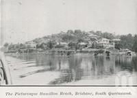 "<span class=""caption-caption"">The picturesque Hamilton Reach</span>. <br />From <span class=""caption-book"">The Pocket Queensland</span>, <span class=""caption-creator"">Queensland Government Intelligence and Tourist Bureau</span>, Brisbane, 1921, collection of <span class=""caption-contributor"">Centre for the Government of Queensland</span>."