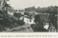 "<span class=""caption-caption"">Burnett River at Mundubbera</span>. <br />From <span class=""caption-book"">The Pocket Queensland</span>, <span class=""caption-creator"">Queensland Government Intelligence and Tourist Bureau</span>, Brisbane, 1921, collection of <span class=""caption-contributor"">Centre for the Government of Queensland</span>."