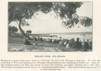 "<span class=""caption-caption"">Nielson Park, sea beach</span>. <br />From <span class=""caption-book"">The Burnett and Isis Pictorial</span>, <span class=""caption-creator"">Richards & Kingdon</span>, Bundaberg, 1927, collection of <span class=""caption-contributor"">Centre for the Government of Queensland</span>."