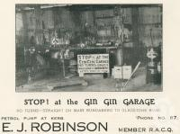 "<span class=""caption-caption"">Gin Gin Garage</span>. <br />From <span class=""caption-book"">The Burnett and Isis Pictorial</span>, <span class=""caption-creator"">Richards & Kingdon</span>, Bundaberg, 1927, collection of <span class=""caption-contributor"">Centre for the Government of Queensland</span>."