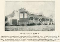 "<span class=""caption-caption"">Gin Gin General Hospital</span>. <br />From <span class=""caption-book"">The Burnett and Isis Pictorial</span>, <span class=""caption-creator"">Richards & Kingdon</span>, Bundaberg, 1927, collection of <span class=""caption-contributor"">Centre for the Government of Queensland</span>."