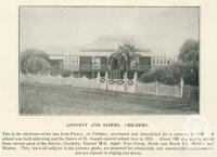 """<span class=""""caption-caption"""">Convent and School, Childers</span>. <br />From <span class=""""caption-book"""">The Burnett and Isis Pictorial</span>, <span class=""""caption-creator"""">Richards & Kingdon</span>, Bundaberg, 1927, collection of <span class=""""caption-contributor"""">Centre for the Government of Queensland</span>."""