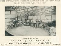 """<span class=""""caption-caption"""">Interior of Realf's Garage, Childers</span>. <br />From <span class=""""caption-book"""">The Burnett and Isis Pictorial</span>, <span class=""""caption-creator"""">Richards & Kingdon</span>, Bundaberg, 1927, collection of <span class=""""caption-contributor"""">Centre for the Government of Queensland</span>."""