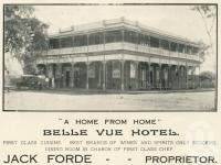 """<span class=""""caption-caption"""">Belle Vue Hotel, Childers</span>. <br />From <span class=""""caption-book"""">The Burnett and Isis Pictorial</span>, <span class=""""caption-creator"""">Richards & Kingdon</span>, Bundaberg, 1927, collection of <span class=""""caption-contributor"""">Centre for the Government of Queensland</span>."""