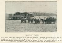 """<span class=""""caption-caption"""">West May farm, Apple Tree Creek</span>. <br />From <span class=""""caption-book"""">The Burnett and Isis Pictorial</span>, <span class=""""caption-creator"""">Richards & Kingdon</span>, Bundaberg, 1927, collection of <span class=""""caption-contributor"""">Centre for the Government of Queensland</span>."""