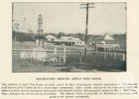 """<span class=""""caption-caption"""">Recreation ground, Apple Tree Creek</span>. <br />From <span class=""""caption-book"""">The Burnett and Isis Pictorial</span>, <span class=""""caption-creator"""">Richards & Kingdon</span>, Bundaberg, 1927, collection of <span class=""""caption-contributor"""">Centre for the Government of Queensland</span>."""