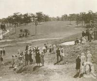 "<span class=""caption-caption"">Municipal Golf Links in Victoria Park</span>. <br />From <span class=""caption-book"">Brisbane, Australia's Sunshine City, Souvenir Commemorating the Visit of HRH The Dule of Gloucester</span>, <span class=""caption-creator"">Brisbane City Council</span>, Brisbane, 1934, collection of <span class=""caption-contributor"">Centre for the Government of Queensland</span>."