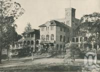 "<span class=""caption-caption"">Brisbane Boy's College, Toowong</span>. <br />From <span class=""caption-book"">Brisbane, Queensland's Capital</span>, <span class=""caption-creator"">Oswald L. Ziegler</span>, <span class=""caption-publisher"">Brisbane City Council</span>, Brisbane, 1949, collection of <span class=""caption-contributor"">Centre for the Government of Queensland</span>."