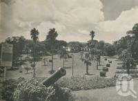 "<span class=""caption-caption"">Albert Park</span>. <br />From <span class=""caption-book"">Brisbane, Queensland's Capital</span>, <span class=""caption-creator"">Oswald L. Ziegler</span>, <span class=""caption-publisher"">Brisbane City Council</span>, Brisbane, 1949, collection of <span class=""caption-contributor"">Centre for the Government of Queensland</span>."