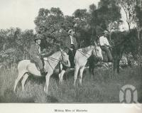"<span class=""caption-caption"">Mining men of Mareeba</span>. <br />From <span class=""caption-book"">Australia Unlimited</span>, <span class=""caption-creator"">Edwin J Brady</span>, <span class=""caption-publisher"">George Robertson & Co</span>, Melbourne, 1918, collection of <span class=""caption-contributor"">Centre for the Government of Queensland</span>."