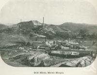 "<span class=""caption-caption"">Gold mines, Mount Morgan</span>. <br />From <span class=""caption-book"">Australia Unlimited</span>, <span class=""caption-creator"">Edwin J Brady</span>, <span class=""caption-publisher"">George Robertson & Co</span>, Melbourne, 1918, collection of <span class=""caption-contributor"">Centre for the Government of Queensland</span>."