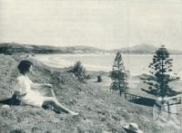 "<span class=""caption-caption"">Fisherman's Beach, Emu Park</span>. <br />From <span class=""caption-book"">Queensland Journey</span>, <span class=""caption-creator"">C.B. Christensen</span>, <span class=""caption-publisher"">Queensland Government Tourist Bureau</span>, Brisbane, 1938, collection of <span class=""caption-contributor"">Centre for the Government of Queensland</span>."