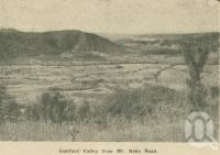 "<span class=""caption-caption"">Samford Valley from Mt Nebo Road</span>. <br />From <span class=""caption-book"">Penrod's 150 miles round Brisbane</span>, <span class=""caption-creator"">Penrod Guide Book Company</span>, Brisbane, 1956, collection of <span class=""caption-contributor"">Centre for the Government of Queensland</span>."