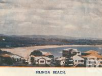 "<span class=""caption-caption"">Bilinga Beach</span>. <br />From <span class=""caption-book"">Coolangatta for your holidays</span>, <span class=""caption-creator"">Queensland Government Tourist Bureau</span>, Brisbane, c1938, collection of <span class=""caption-contributor"">Centre for the Government of Queensland</span>."
