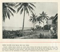 """<span class=""""caption-caption"""">Green Island</span>. <br />From <span class=""""caption-book"""">Cairns North Queensland</span>, Cairns, c1934, collection of <span class=""""caption-contributor"""">Centre for the Government of Queensland</span>."""