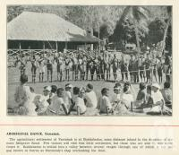 "<span class=""caption-caption"">Aboriginal dance, Yarrabah</span>. <br />From <span class=""caption-book"">Cairns North Queensland</span>, Cairns, c1934, collection of <span class=""caption-contributor"">Centre for the Government of Queensland</span>."