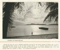 "<span class=""caption-caption"">Sunset at Palm Island</span>. <br />From <span class=""caption-book"">Pictorial Grandeur of Cairns</span>, Cairns, c1935, collection of <span class=""caption-contributor"">Centre for the Government of Queensland</span>."