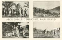 "<span class=""caption-caption"">Aboriginals' ceremonies Palm Island</span>. <br />From <span class=""caption-book"">Pictorial Grandeur of Cairns</span>, Cairns, c1935, collection of <span class=""caption-contributor"">Centre for the Government of Queensland</span>."
