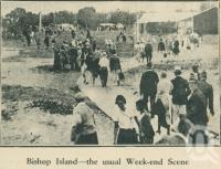 "<span class=""caption-caption"">Bishop Island</span>. <br />From <span class=""caption-book"">Brisbane Bay Resorts</span>, <span class=""caption-creator"">Queensland Government Tourist Bureau</span>, Brisbane, 1933, collection of <span class=""caption-contributor"">Centre for the Government of Queensland</span>."
