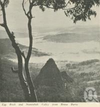 "<span class=""caption-caption"">Egg Rock and Numinbah Valley from Binna Burra</span>. <br />From <span class=""caption-book"">Gold Coast Hinterland Attractions</span>, c1962, collection of <span class=""caption-contributor"">Centre for the Government of Queensland</span>."