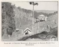 """<span class=""""caption-caption"""">A soldier selector's homestead on banana plantation, Brookfield</span>. <br />From <span class=""""caption-book"""">Queensland Agricultural Journal</span>, 1922, collection of <span class=""""caption-contributor"""">Fryer Library, UQ</span>."""