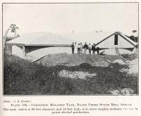 "<span class=""caption-caption"">Molasses tank, Plane Creek Sugar Mill, Sarina</span>. <br />From <span class=""caption-book"">Queensland Agricultural Journal</span>, 1925, collection of <span class=""caption-contributor"">Fryer Library, UQ</span>."