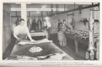 "<span class=""caption-caption"">The cutting-up room at the Zillmere Bacon Factory</span>. <br />From <span class=""caption-book"">Queensland Agricultural Journal</span>, 1925, collection of <span class=""caption-contributor"">Fryer Library, UQ</span>."