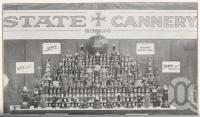 "<span class=""caption-caption"">Products of the Queensland State Cannery, Dath Street, Teneriffe</span>. <br />From <span class=""caption-book"">Queensland Agricultural Journal</span>, 1926, collection of <span class=""caption-contributor"">Fryer Library, UQ</span>."
