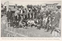 """<span class=""""caption-caption"""">Local farmers and others present at the McCormick-Deering Tractor School, held recently at Millmerran</span>. <br />From <span class=""""caption-book"""">Queensland Agricultural Journal</span>, 1927, collection of <span class=""""caption-contributor"""">Fryer Library, UQ</span>."""