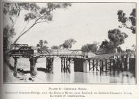 "<span class=""caption-caption"">Isisford Shire, concrete bridge over the Barcoo River</span>. <br />From <span class=""caption-book"">Queensland Agricultural Journal</span>, 1929, collection of <span class=""caption-contributor"">Fryer Library, UQ</span>."